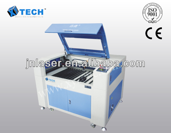 Jinan hot sale mini CO2 tube DSP control system laser engraving cnc router price