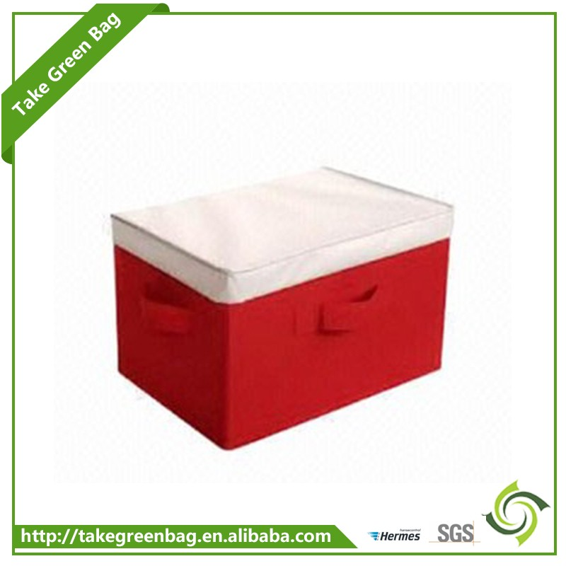 600D polyester decorative tea cup storage boxes for home