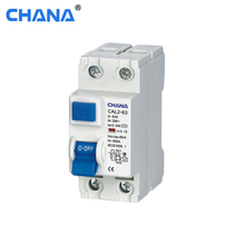 CAL2-63 Electro-magnetic ID type RCCB/RCD Residual Current Circuit Breaker