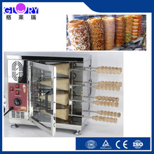 Commercial cake rotisserie machine/cake roll chimney cake rolls roeast bread