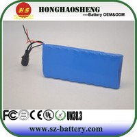 Low price high quality 6s6p 24v 12ah lithium ion battery pack 18650 akku 24v 12ah