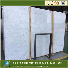 Popular elegant 24x24 white bianco carrara marble tiles & price &blocks