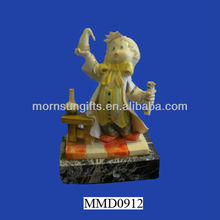 Italy Young Chemist Scientist Polyresin Figurine