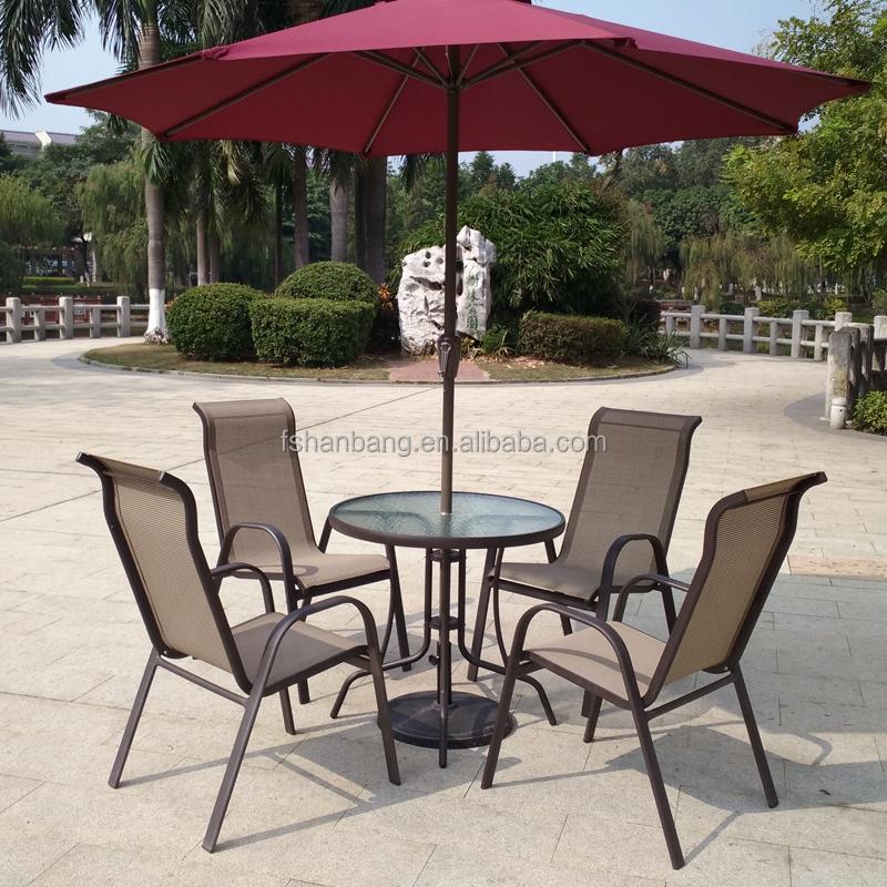 Light Weight Outdoor Garden Balcony Aluminum Sling Patio Furniture 3 5 Pcs Gl