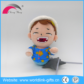 Give children the best Christmas present is buy plush toy from china guangdong