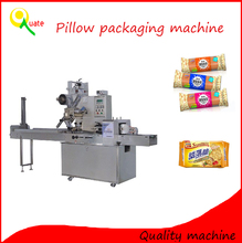Commercial Horizontal Pillow Bag Packaging Machine/Chocolate/Biscuit/Cookies Pillow Packing Machine