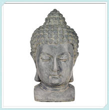 High Outdoor Statue Antique Resin Buddha Head