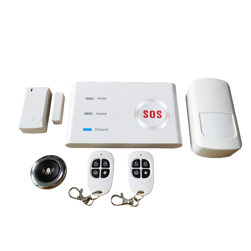 New smart home WIFI+GSM APP wireless control home security alarm system support IP <strong>camera</strong>