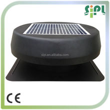 DC motor home use solar air ventilation radiator roof fan