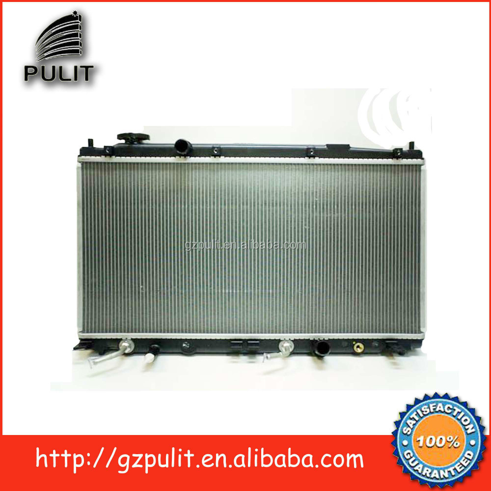 Aluminum auto radiator and car radiator for 2009Honda City 1.8 Fit 1.5 AT