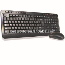 hot sell high quality wireless mouse and keyboard for laptop