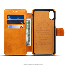 2018 customized Magnet leather flip wallet phone case with stand for iphone 6 7 8 , for Samsung galaxy s3, for motorola moto x