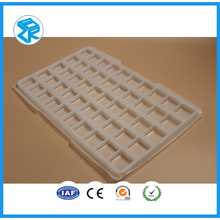 Factory Direct Customizable Transparent Enviromental PET Plastic Tray
