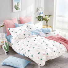 Competitive price 128*68 100% cotton printed bedding fabric