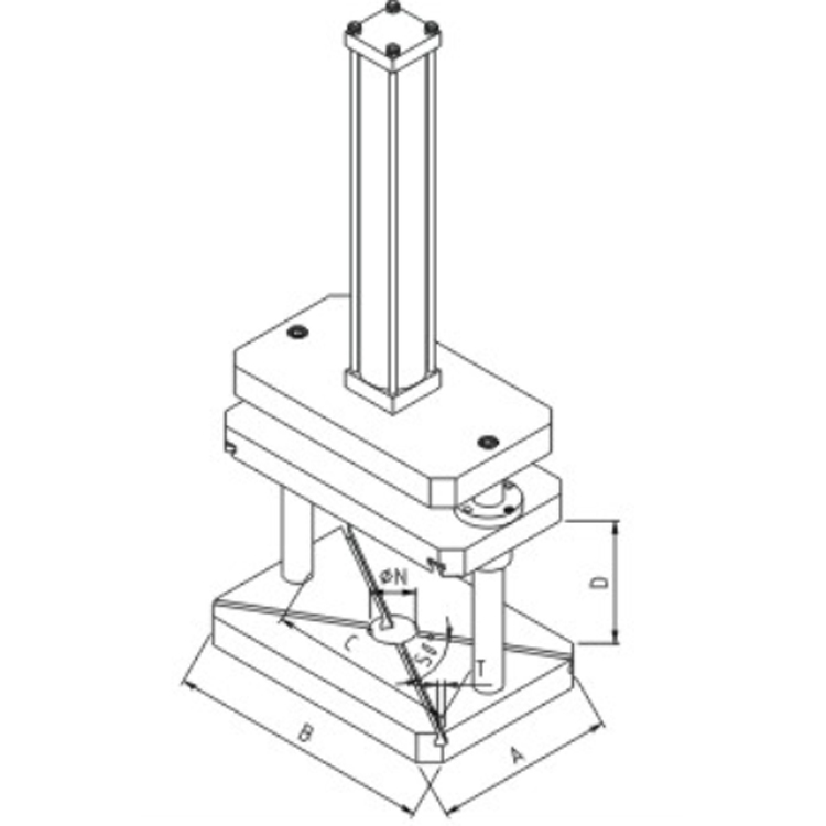 Hot Sale column riveting machine
