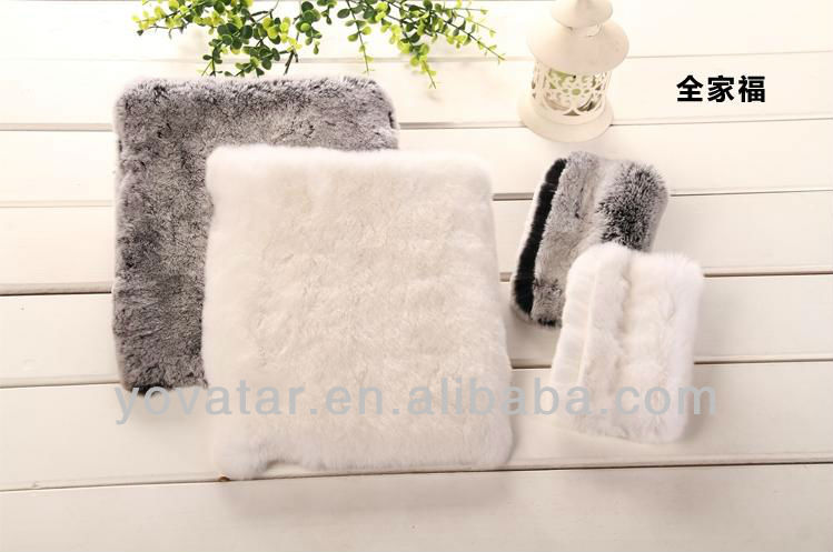Cover For ipad 2 3 4 mini Bling Warm Soft Rex Rabbit Fur/Hair Case Cover For ipad 2 3 4 mini Iphone 5 5G 4 4S