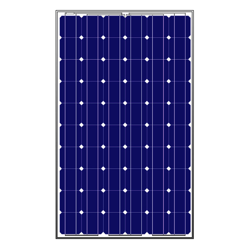 250w MonoCrystalline Solar cell solar panels sun power Pv module for home use