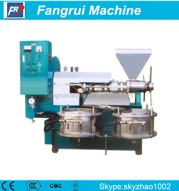 peanut soybean rapeseed oil press machine/New type mechanical extruding 150-200 kg/h cold & hot pressing rice bran oil p