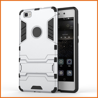 Factory iron man mobile phone hard case for huawei p8 lite