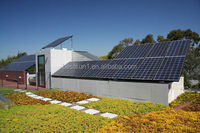 Both AC and DC output 1KW compact solar power system