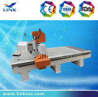 Hot sale and cheap Link brand 3.0kw spindle TBI ball screw LXM1325 cnc router machine for aluminum/wood