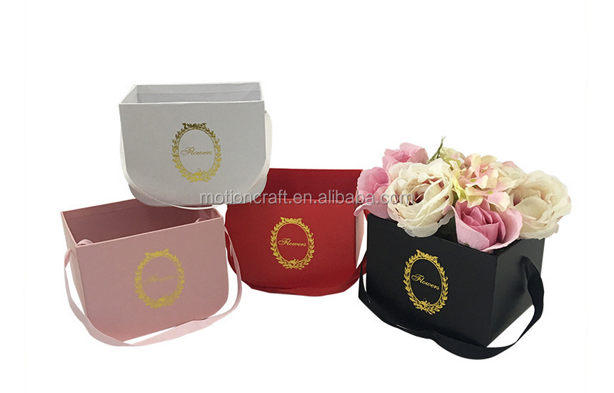 Wholesale flower <strong>boxes</strong>,ribbon paper gift <strong>boxes</strong> for flowers