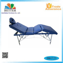 Better 2017 aluminium massage table with bag,sex massage table