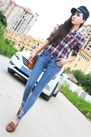 2013 top brand name cheap colored skinny jeans for women 5671