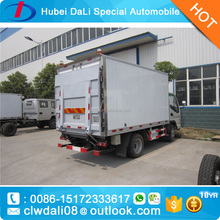 hot sale freezer van -18 c with tail lift gate 1000 kg for loading