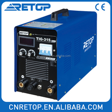 TIG315A automatic inverter welder dc tig weld mma welding machine motor spare parts