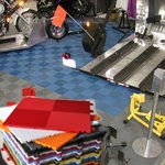 Direct Factory Price First Grade perforated rubber garage floor mat