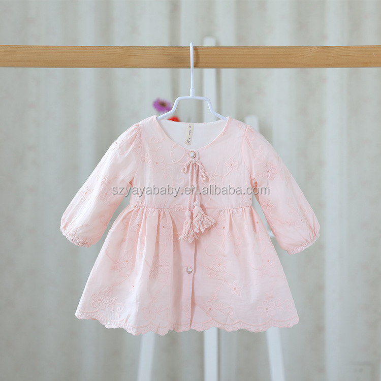 YY BD0734 hot sale 2016 baby dress patterns free image model children dress
