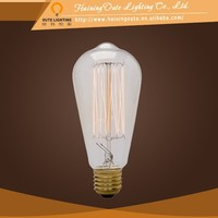 Niple vintage decorative filament light bulbs filament antique light bulb for sale