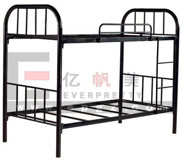 Cheap knock down steel sleeper bunk bed frame made in for Cheap kids bed frames