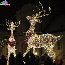 Christmas decoration animal led outdoor light for reindeer