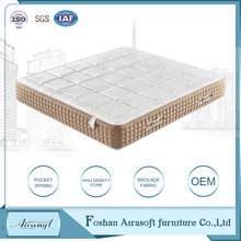 Best price alibaba 5 star hotel quality bed king size pocket spring angel sleep foam health latex mattress china