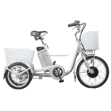 36v 250w lithium battery China cargo tricycle electric trikes for adults