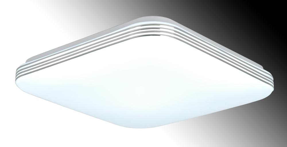 square acrylic led ceiling light white PMMA cover ceiling lamp opal 30W