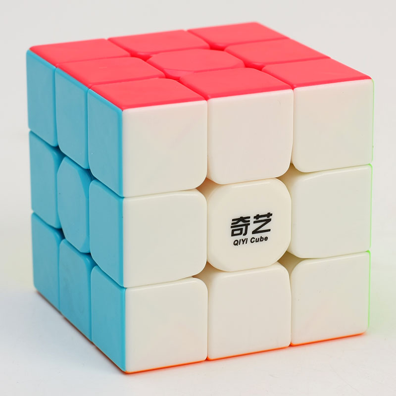 qiyi warrior <strong>W</strong> 3 by 3 Magic Cube Educational Toy Puzzle Speed Cubes puzzle stickerless Wholesale