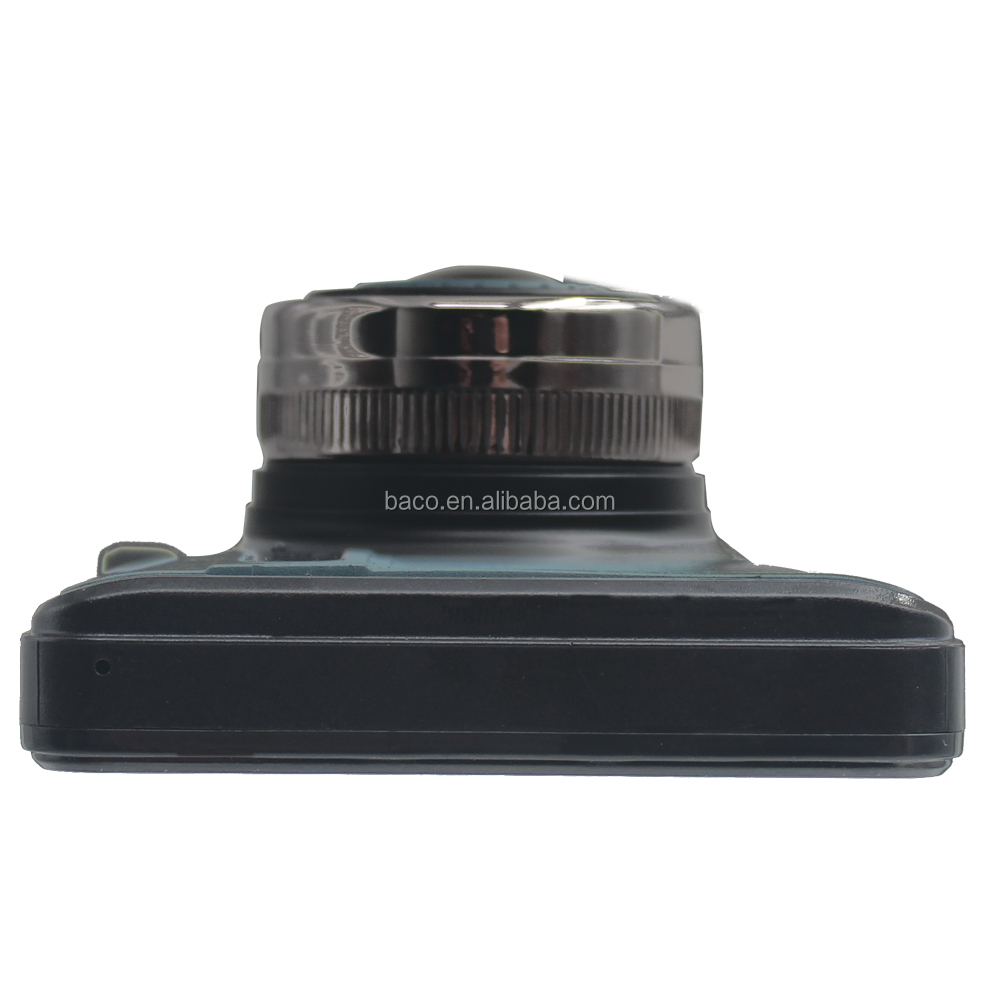 new model night vision 5inch display 120degree motion detection full HD1080p car dash camera dual cam