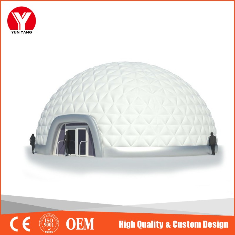 White Camping Inflatable Bubble Dome Lawn Tent for Sale, Inflatable Tent