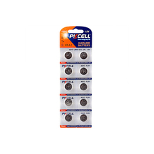 AG13 lr44 button cell battery pictures of 10 Batteries