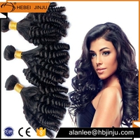free sample Spiral curl wave natural brazilian eon hair extension