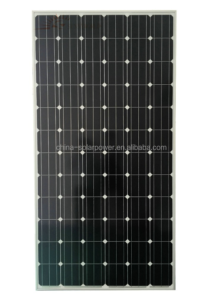 Top Efficiency Solar Panel 340W Monocrystalline Cell Made in China