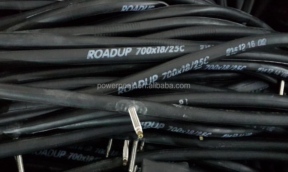 Bicyle inner tube 700x18/25C F/V 60mm smooth threaded ROADUP