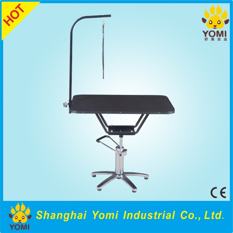 YM-YY-002 Wholesale price hydraulic stainless steel pet grooming table