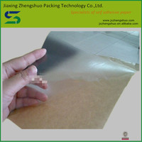 Custom print waterproof transparent self adhesive sticker paper