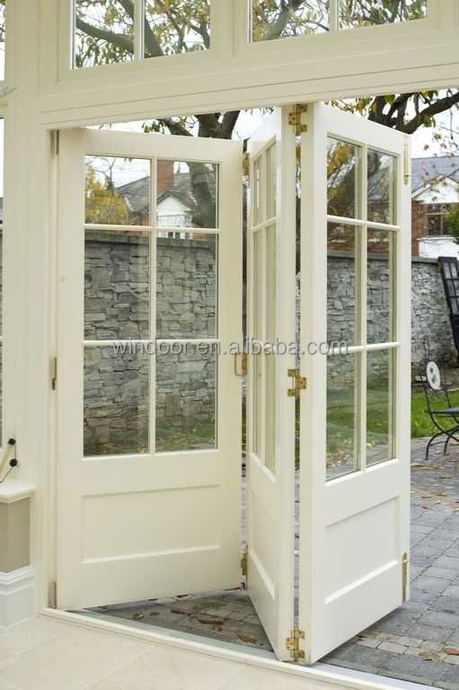 Luxury decorative aluminum doors inside security fold away grilled Aluminum door exterior