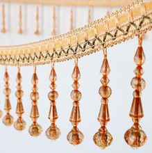 high quality Newest Mascot Beaded Tassels and fringe trims for lampshade
