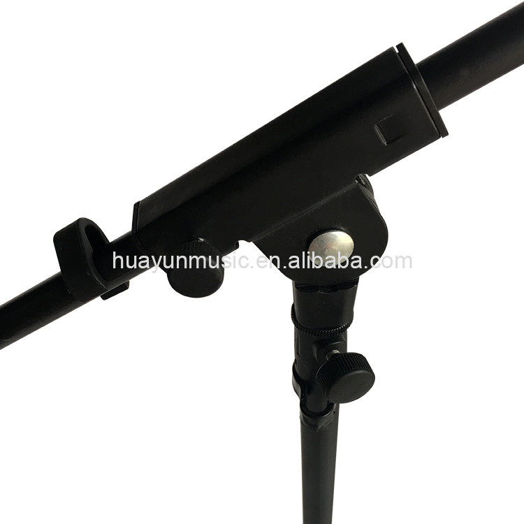 Musical instrument single head standard flexible microphone stand